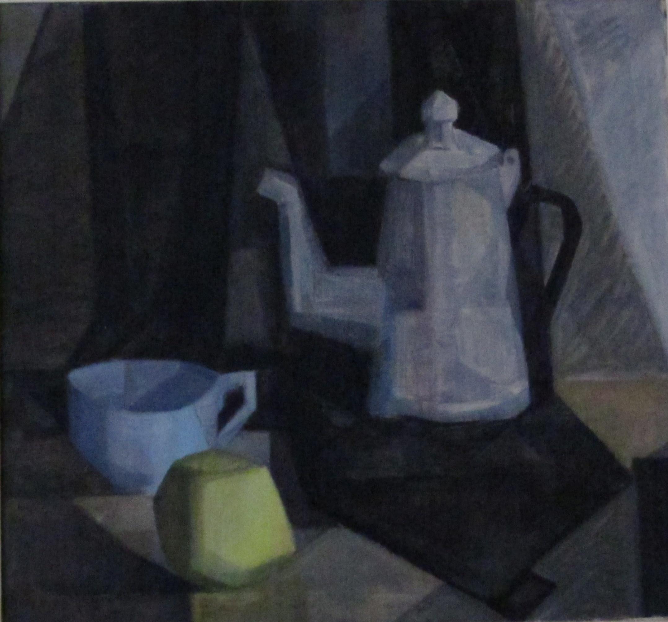 Bodegón gris
